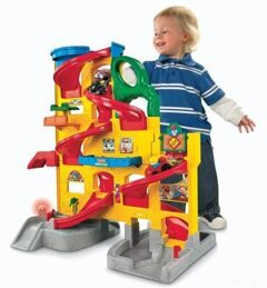 Парковка Fisher Price