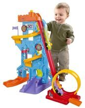 Паркинг с треком Fisher Price
